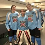 Three White Hawks Participate in Girls Senior Classic
