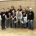 Tonkabots Show Determination, Grit at Northern Lights Robotics Competition