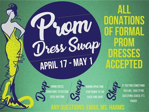Student Senate Hosts Prom Dress Swap