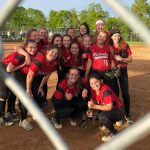 White Hawks Softball Advances to Section Finals