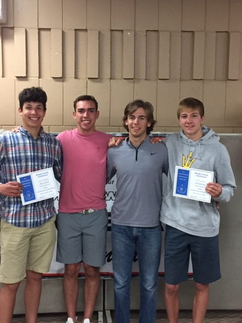 Baseball Team Holds Awards Banquet
