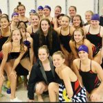 Girls Swim Hosts Tim Daly Invitational