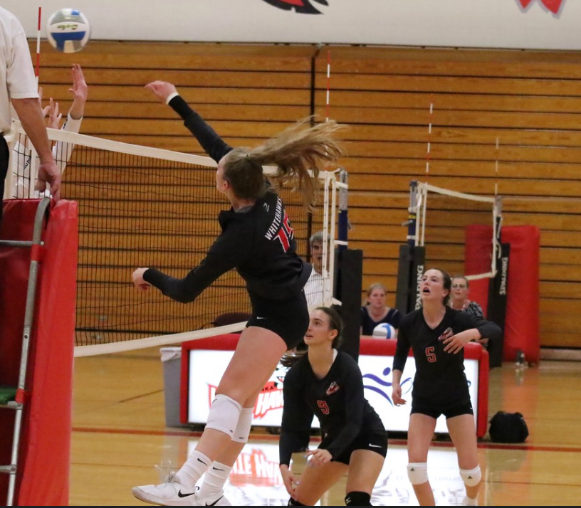 White Hawks Volleyball on a Roll