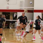 Tough Week for White Hawks Volleyball