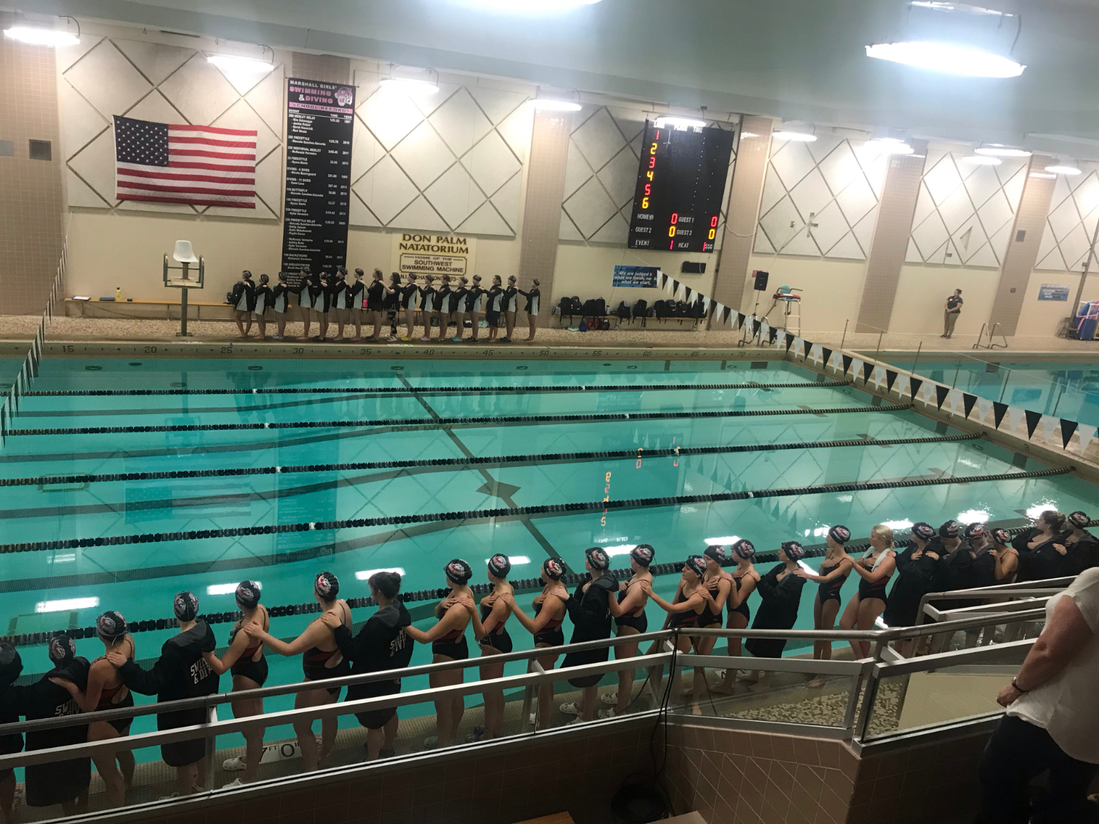 White Hawks Girls Swim and Dive Team Ranked Fourth in State