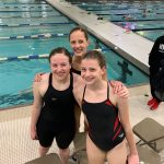 White Hawks JV Swimmers Get Personal Best Times at Conference Meet