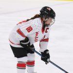 Girls Hockey Wins on Grandparents Night