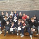 White Hawks Wrestlers Win Battle of the Hawks, Runners-Up at Fridley Invite