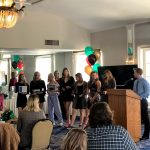 White Hawks Swimmers and Divers Celebrate Season