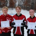 White Hawks Nordic Skiers Earn Conference Honors