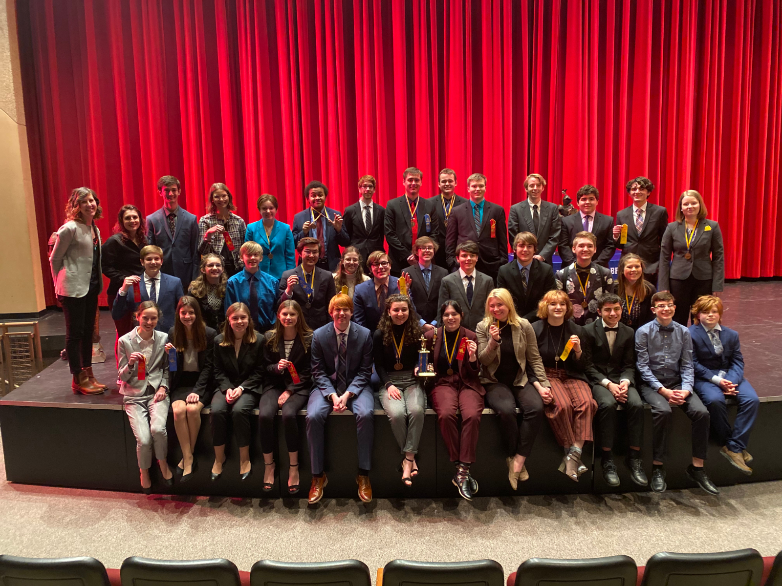 Westonka Speech Takes First Place at St. Michael-Albertville Tourney