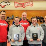 White Hawks Wrestlers End Regular Season