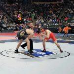 Lance Munsterteiger wrestles at state