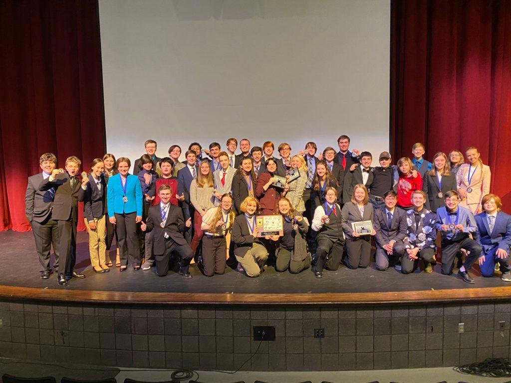 WCC Speech tournament