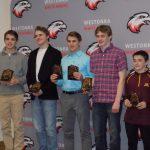 White Hawks Wrestlers Receive End-of-Season Awards