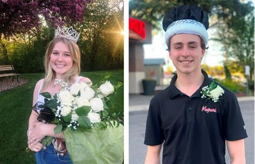 Queen Emma and King Artie Reign Over Prom
