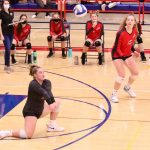 MWHS Volleyball Challenges Orono, Jordan