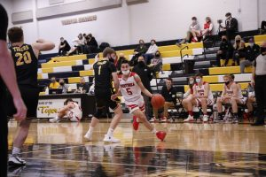 Boys Basketball vs. Hutchinson – 1.29.21 / Herder Photography