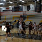 White Hawks Girls Basketball Splits on the Road, Picks Up First Win