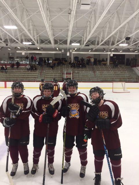 Four White Hawks Participate in Minnesota Girls Hockey Senior Classic
