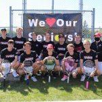 White Hawks boys tennis seniors