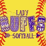 Lady Buffs Softball shirts