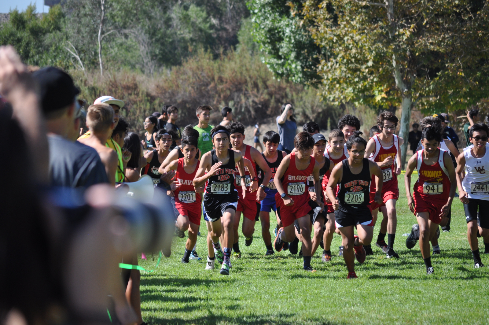 Cross Country Gets Medals and Personal Best at Brea