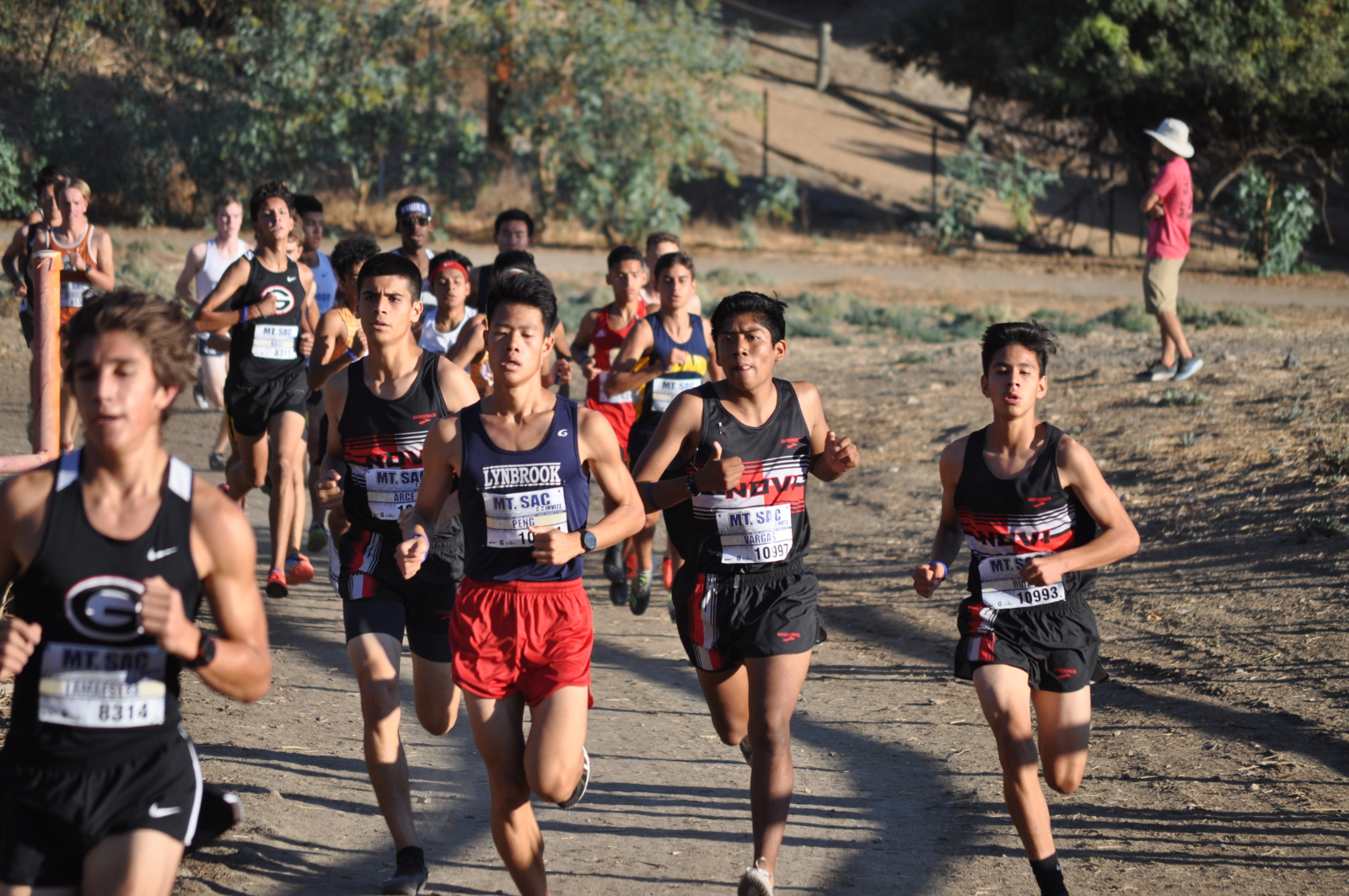 Cross Country Excels at Mt. SAC