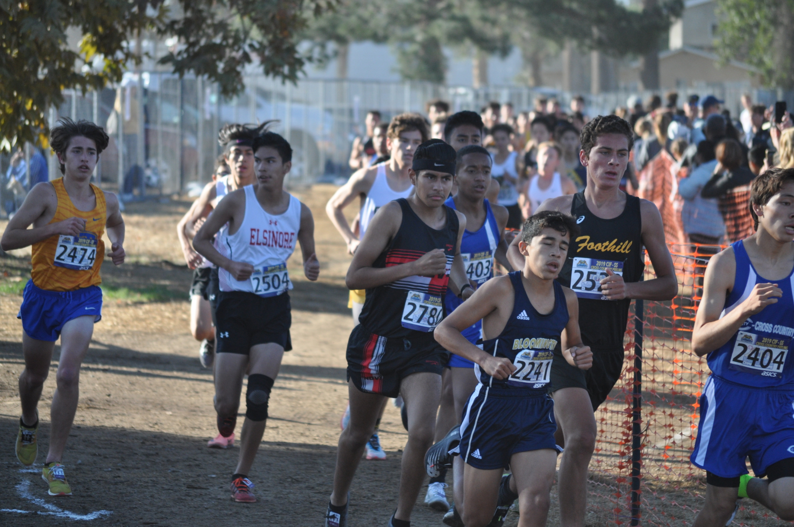 Cross Country Takes Risks at CIF Prelims