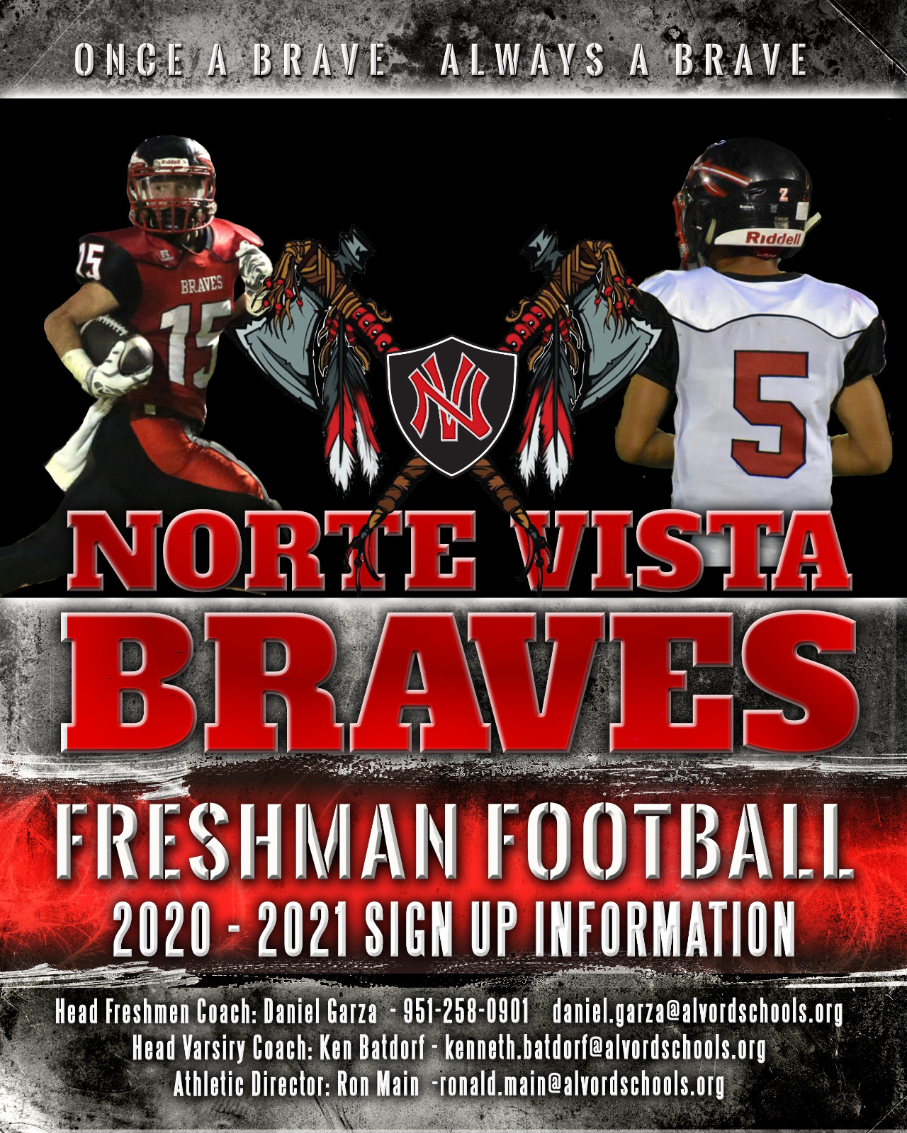 Freshman Football Information