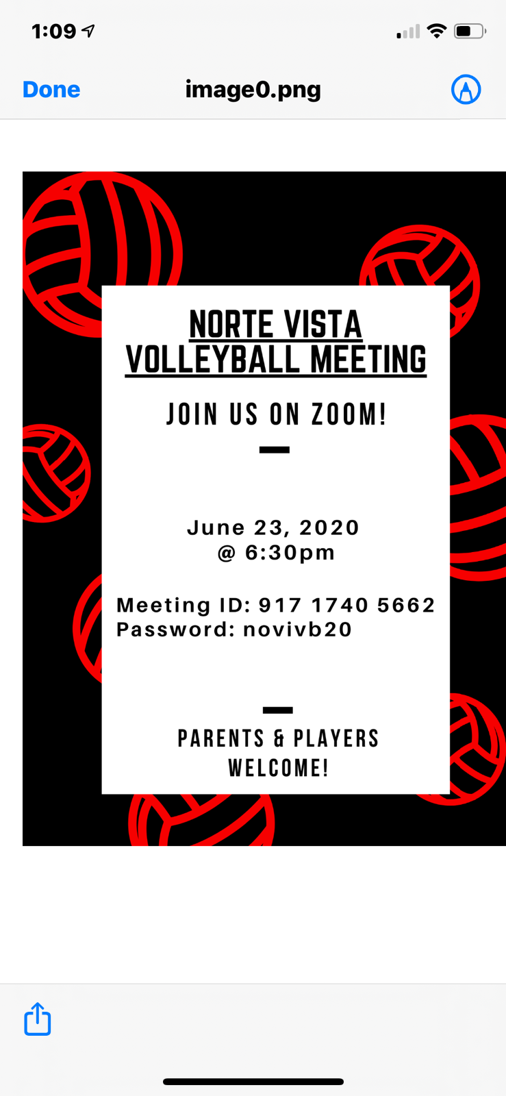 Volleyball Meeting