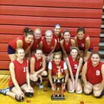 JV Volleyball Places 2nd at Invite