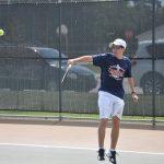 Cardinal Tennis Plays Tough