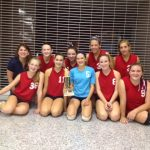 JV Volleyball takes 2nd