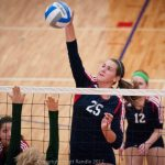 Volleyball Wins in Straight Sets Over Hesperia