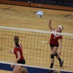 Cardinal Volleyball Continues to Improve at Home Invite