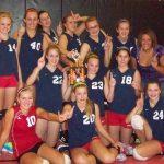 Freshman Volleyball Wins Silver Bracket
