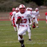 Cardinal Football Takes Down Chip Hills