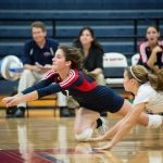 Cardinal Volleyball Falls in Five to Chip