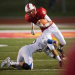 Cardinal Football Chops Mohawks for Homecoming Win