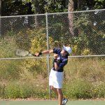 Cardinal Tennis Splits with Harbor Springs