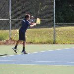 Cardinal Tennis Rolls Past Alma