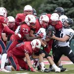 Cardinal Football Downs Newaygo 33-15
