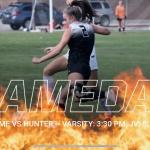 Girls Soccer:  GAMEDAY @ Home vs Hunter Wolverines
