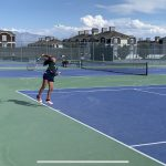 Girls Varsity Tennis beats Herriman 3 – 2