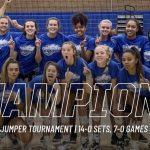 Varsity Volleyball beats Farmington 2 – 0