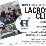 Free Women's Lacrosse Clinic