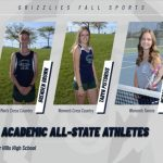 Fall Sports:  Academic All-State Athletes