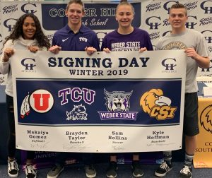 Grizzlies sign their NLI