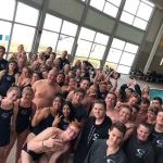 Men's Varsity Swimming beats West 150 – 125